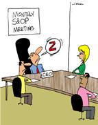 S&OP monthly meeting