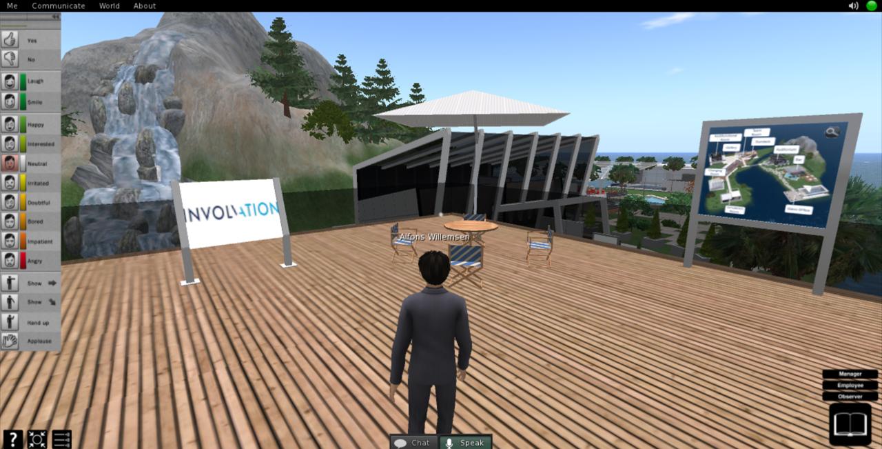 De Involvation Supply Chain Game in een heel nieuw 3D-jasje (op elk moment, op elke plaats)